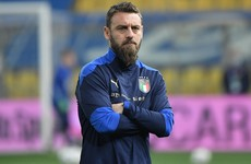 World Cup winner De Rossi hospitalised with Covid-19 - reports