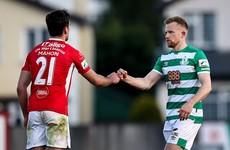 Shamrock Rovers score 88th minute equaliser against Sligo