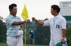 Hideki Matsuyama four shots clear at the Masters after stunning Saturday at Augusta