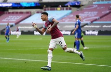 8 goals in 9 games for Jesse Lingard as West Ham's brilliant season continues