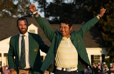 Matsuyama holds on to win the Masters and become the first Japanese male player to win a Major