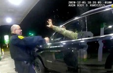 US police officer fired after black army officer pepper-sprayed at traffic stop