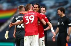 Solskjaer wants Cavani to stay after Spurs display