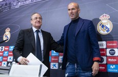 Perez voted in for sixth term as president of Real Madrid