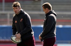 O'Mahony fit to resume training ahead of Munster's latest clash with Leinster