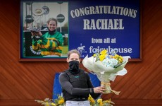 Rachael Blackmore returns to action with win at Fairyhouse after Grand National heroics
