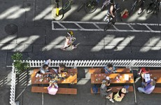 Hotels, restaurants and cafes can now get funding to upgrade their outdoor dining capacity