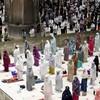 Muslims around the world mark beginning of Ramadan with socially distanced prayers