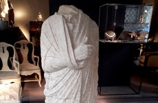 Ancient Roman statue stolen 10 years ago found in Brussels antiques shop