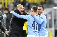 Historic quadruple still on as Man City progress to Champions League semis