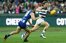 Brilliant Zach Tuohy goal helps Geelong return to victory in AFL
