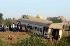 11 dead and nearly 100 injured after passenger train derails in Egypt