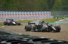 'I asked him if he was trying to kill us both' - Russell rages after Bottas crash