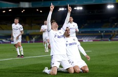Late header snatches draw for Leeds to dent Liverpool's Champions League hopes