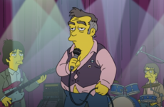 Morrissey accuses The Simpsons of 'hatred' after he is parodied on the show