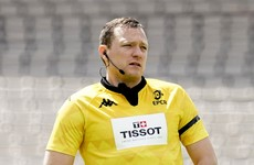 Carley appointed to referee Leinster's semi-final clash with La Rochelle