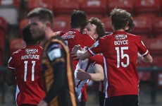 Dundalk's struggles continue as Derry come from behind to claim a point