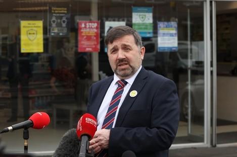Northern Ireland Minister for Heath Robin Swann