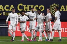 Karim Benzema's brace helps Real Madrid to LaLiga summit