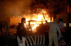 Four killed in bomb attack at luxury Pakistan hotel where Chinese ambassador was staying