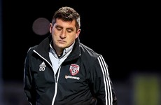 Derry City part company with manager Declan Devine