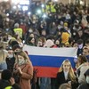 Over 1,000 arrested at Russian marches calling for Alexei Navalny to be freed from prison