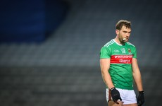 O'Shea departs Mayo training session with knee injury on first night back