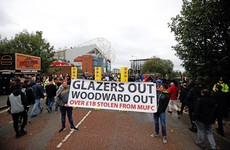 Man Utd fans gain access to training ground during protest against the Glazers
