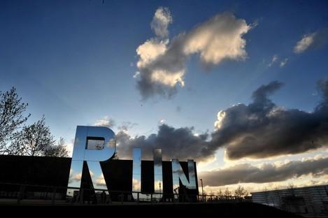 RUN, a work by sculptor Monica Bonvicini