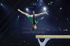 Gymnast Emma Slevin finishes 19th in historic European final appearance