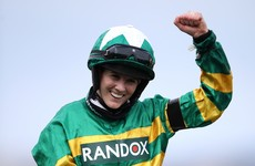 Treble for Rachael Blackmore to boost hopes in jockey title race as she reaches 91 winners for season