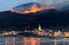 Firefighters escalate operations in Mourne Mountains as gorse blaze continues to rage