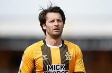 Hoolahan's Cambridge made to wait for promotion, Irish international's goal relegates Barton's Bristol Rovers