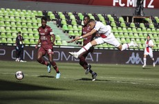 Mbappe double sends PSG top of Ligue 1