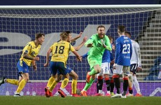 Rangers shocked after Scottish Cup penalty shootout as St Johnstone goalkeeper the hero