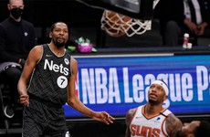 Kevin Durant has a successful night on and off the court as Nets down the Suns