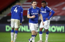 Seamus Coleman's contract with Everton is 'forever'