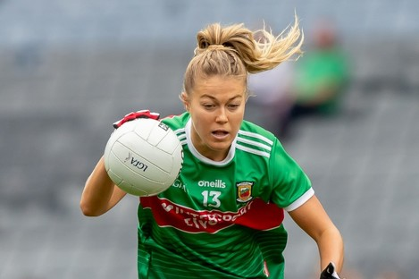 Sarah Rowe has been a key player for Mayo over the last few years.