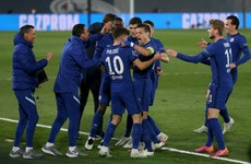Pulisic scores vital away goal as Chelsea hold Real Madrid in Champions League semi-final