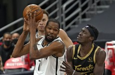 17 points for Durant as Brooklyn Nets rally to secure post-season spot
