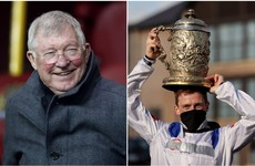 More racing glory for Alex Ferguson with Punchestown Gold Cup win