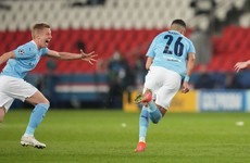 'I said, 'If you believe in yourself, take it'': De Bruyne steps aside for Mahrez winner
