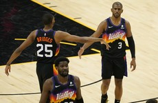 Phoenix Suns reach NBA play-offs for first time in 11 years