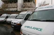 Ambulance involved in three-car accident in Derry