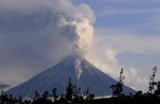 Evacuations as Ecuador volcano erupts