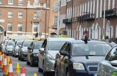 Dáil told taxi drivers forced to call off today's protest - but gardaí say it was a matter for the groups alone