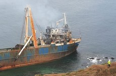 Gardaí launch investigation into cause of fire on MV Alta 'ghost ship'