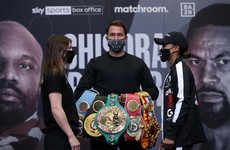 Katie Taylor focused on Jonas bout ahead of possibly switching divisions