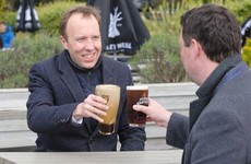 That photo of Matt Hancock holding a bad pint of Guinness is fake