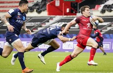 Toulouse await either Leinster or La Rochelle in the Champions Cup final